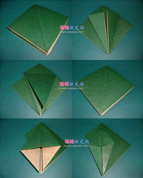 origami macaw parrot step by step manuel sirgo鹦鹉折纸教程 动物折纸 折纸教程 一 晒晒纸艺网