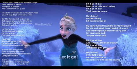 let it go fandomsky 9 the well known frozen theme song let it