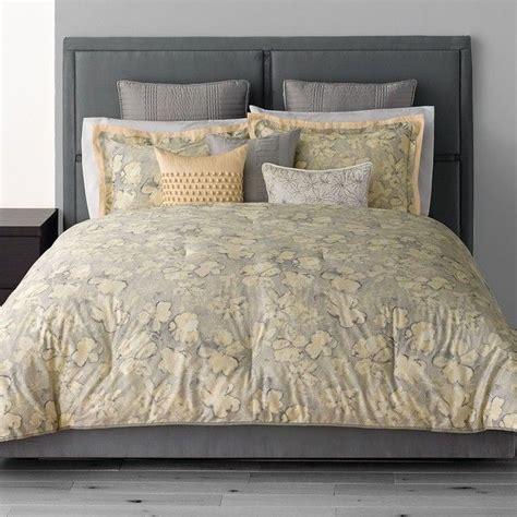 vera wang bedding sets simply vera vera wang etching 3 pc comforter set grey