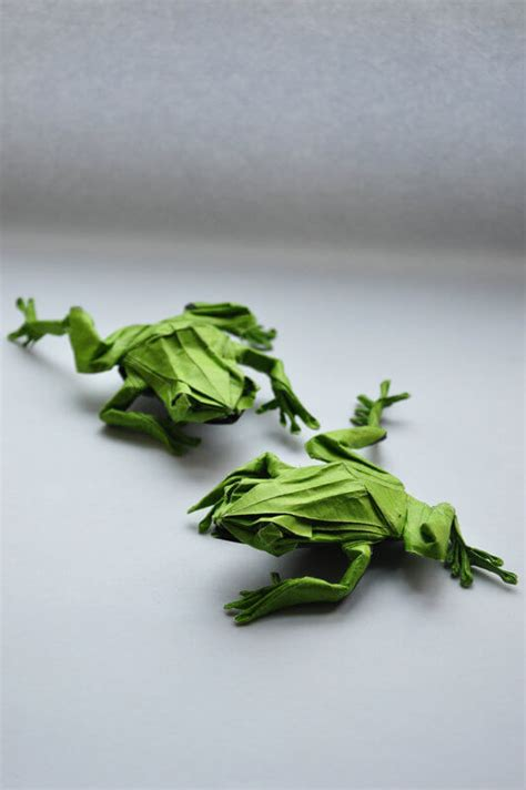 origami tree frog this week in origami july 17 2015 edition
