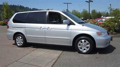 2003 Honda Odyssey by 2003 Honda Odyssey Silver Stock 19699a