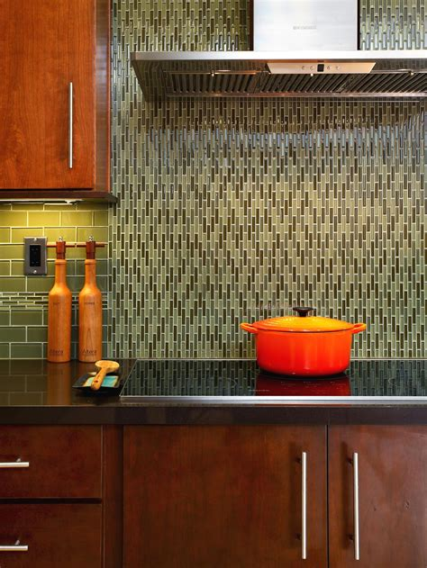 kitchen backsplash glass tile backsplash ideas for granite countertops hgtv pictures kitchen ideas design with cabinets