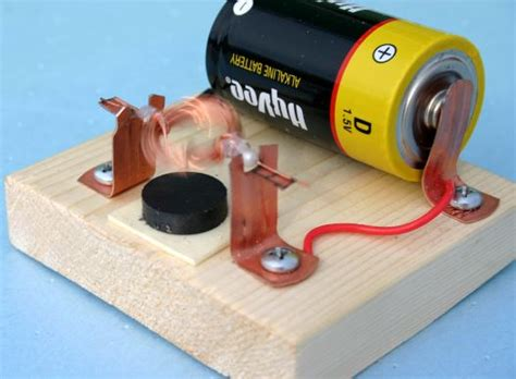 Simple Electric Motor by Simple Electric Motor Ideas Inspire