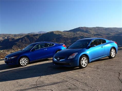 Nissan Accord by To Comparison 2008 Honda Accord Coupe Vs 2008