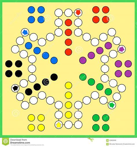 ludo board game stock vector image 62863068
