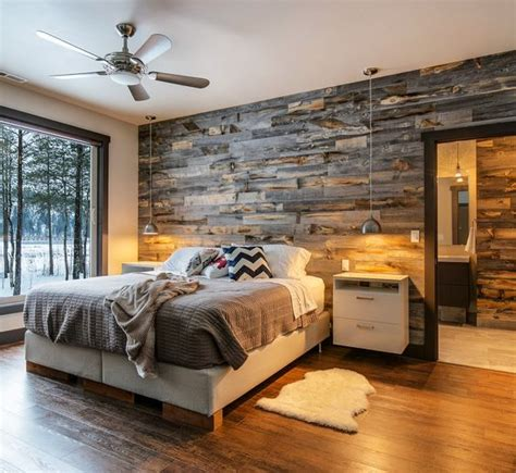 woodwork in bedroom 30 wood accent walls to make every space cozier digsdigs