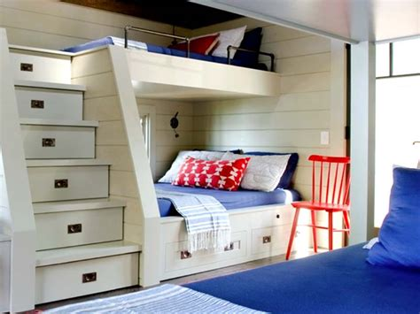 bunk beds for rooms modern cool built in bunk beds for small rooms with steps