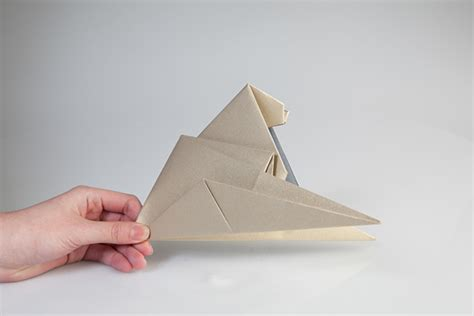 origami sphinx the sphinx on behance
