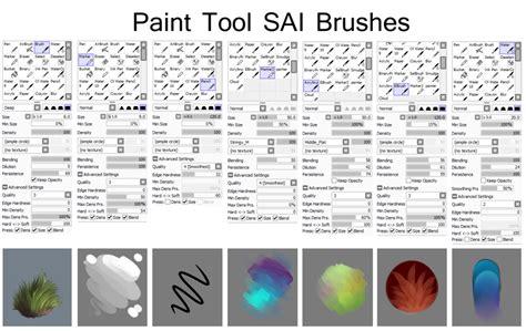 paint tool sai water brush tutorial all draw tutorial sai brushes