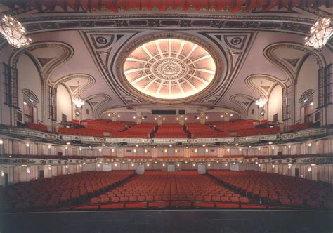 Cadillac Theater Seating by Cadillac Theater Seating Cadillac Palace Theatre