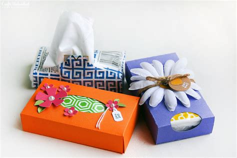 tissue paper box craft more than a card less than a gift solution pocket tissue