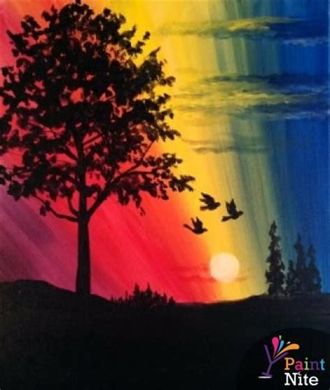 paint nite groupon hamilton 644 best paint nite images on