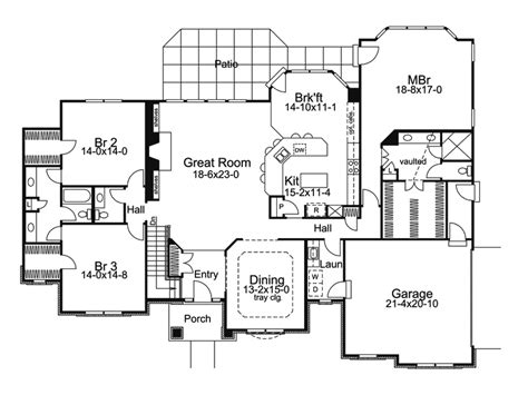 1 story luxury house plans one story luxury house plans rugdots