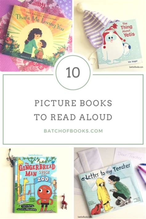 read aloud picture books 10 children s books to read aloud batch of books