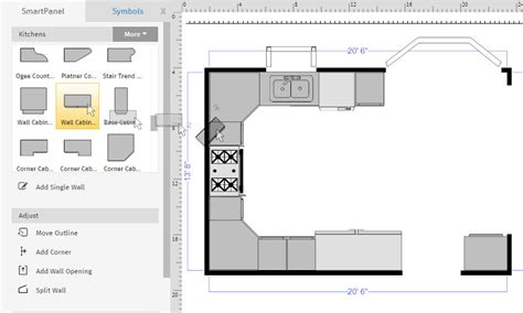 How To Draw A Floor Plan On The Computer how to draw a floor plan with smartdraw