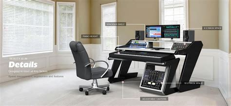 home studio desk workstation furniture