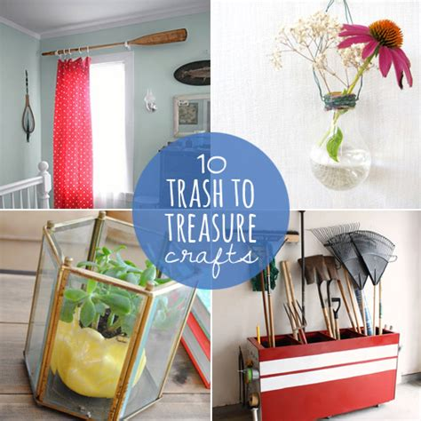 trash to treasure crafts for upcycling crafts ideas