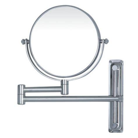 swivel bathroom mirrors magnifying bathroom swivel arm mirror temple webster