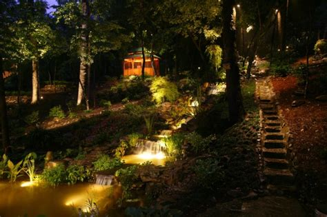 landscape lighting atlanta landscape lighting design installation enchanted environments