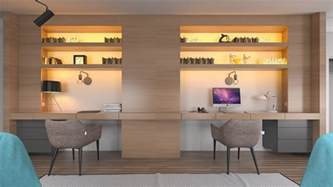 2 person desk for home office 36 inspirational home office workspaces that feature 2