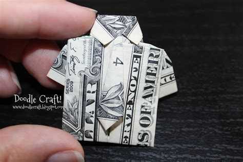 money origami shirt doodlecraft origami money folding shirt and tie