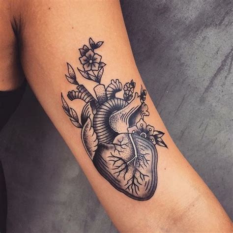 17 best ideas about anatomical heart tattoos on pinterest