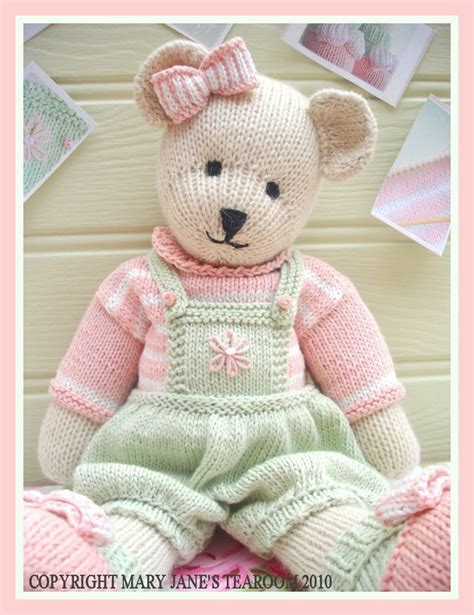 knitted teddy patterns uk teddy knitting pattern pdf email