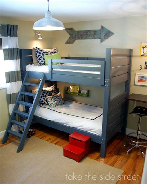 how to make built in bunk beds how to make your own loft bed in easy 5 steps interior