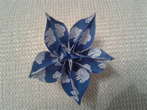 carambola flowers origami origami carambola flower by chvictoria on deviantart