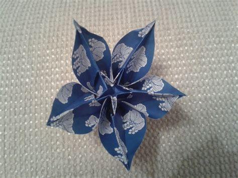 origami flower carambola origami carambola flower by chvictoria on deviantart