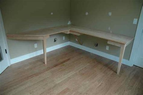 home built computer desk pdf plans built in corner computer desk plans free