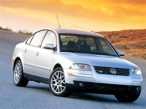 2003 Volkswagen Passat W8 by 2003 Volkswagen Passat W8 Trem Test Review European