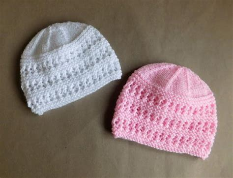 child knit hat pattern two baby hat knitting patterns allfreeknitting