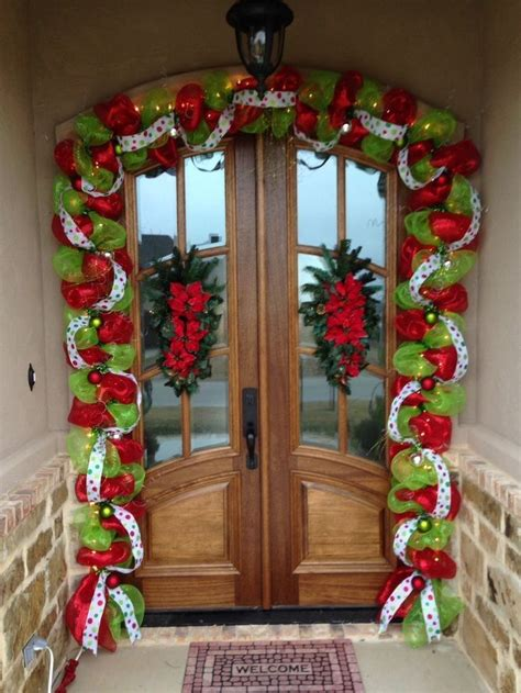 decorations with deco mesh 1000 ideas about deco mesh garland on mesh
