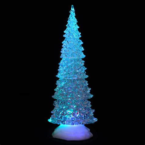trees with lights and decorations light up led acrylic tree ornament decoration