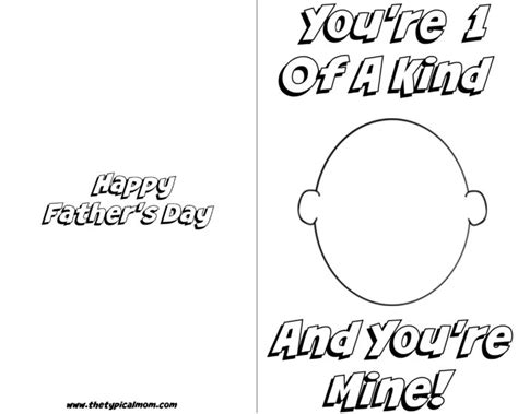 printable fathers day cards for to make free printable fathers day card 183 the typical