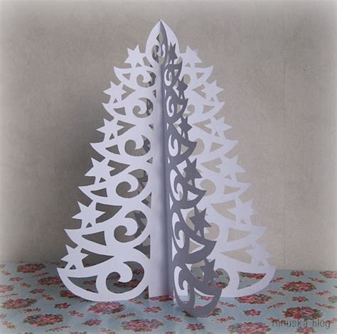 paper trees craft diy paper tree with printable template diy