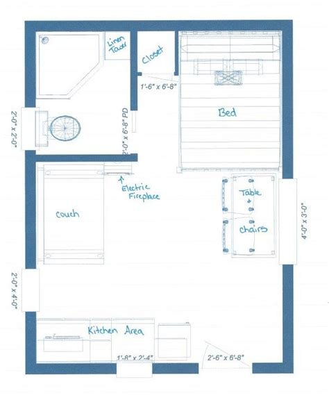 guest cabin floor plans our guest cabin