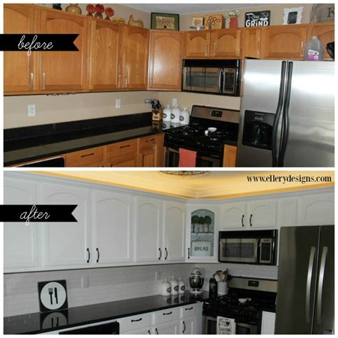 white paint kitchen cabinets our diy kitchen remodel painting your cabinets white