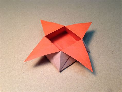 how to make a small origami box origami box