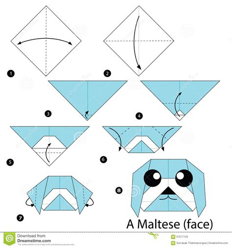 step by step how to make origami origami comot