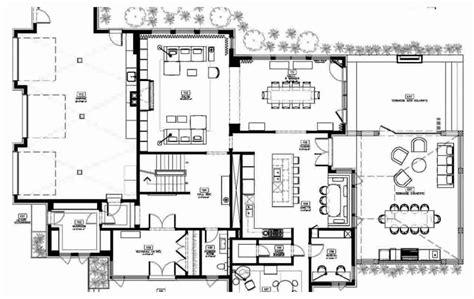 interior design blueprints modern house floor plans decoration