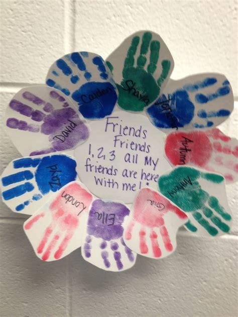 friendship craft ideas 25 best ideas about friendship preschool crafts on