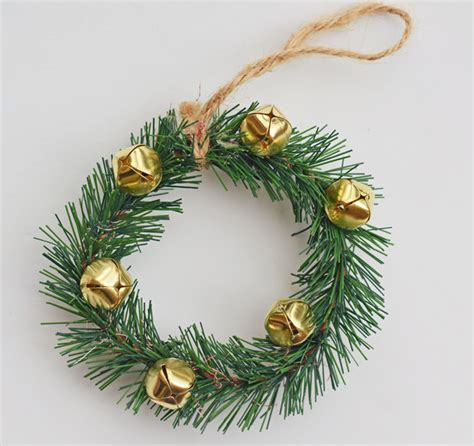 jingle bell wreath jingle bell wreath ornament