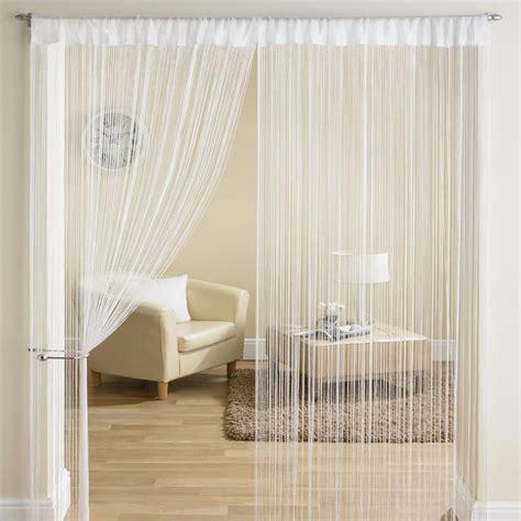 string for doorways classic string fringe panel divider window door curtain