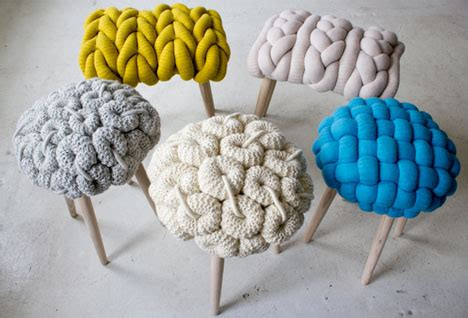 knit s textile designer stitches stools knits wool shirts for chairs