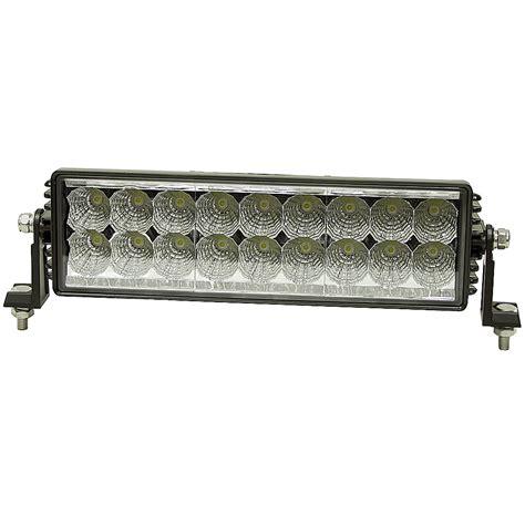 18 led light bar 12 24 vdc 4050 lumen 18 led work light bar