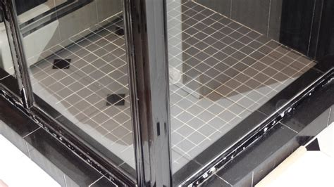 how to clean scum shower doors removing soap scum from glass shower doors