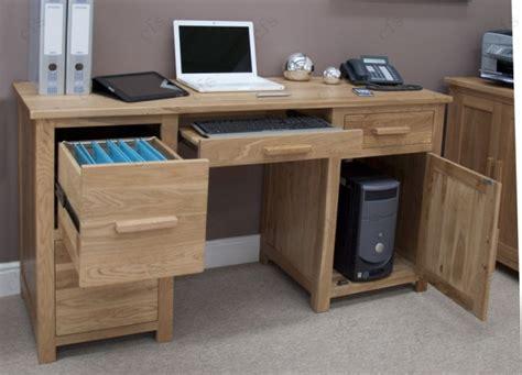 home computer desks uk buy homestyle gb opus oak computer desk large