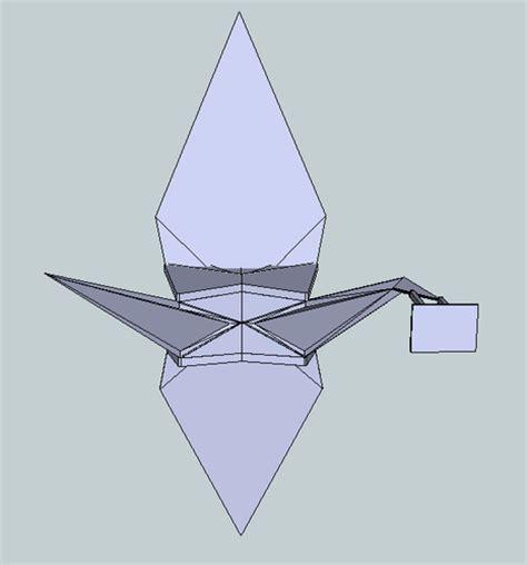 origami player free origami crane free 3d model 3d printable stl cgtrader